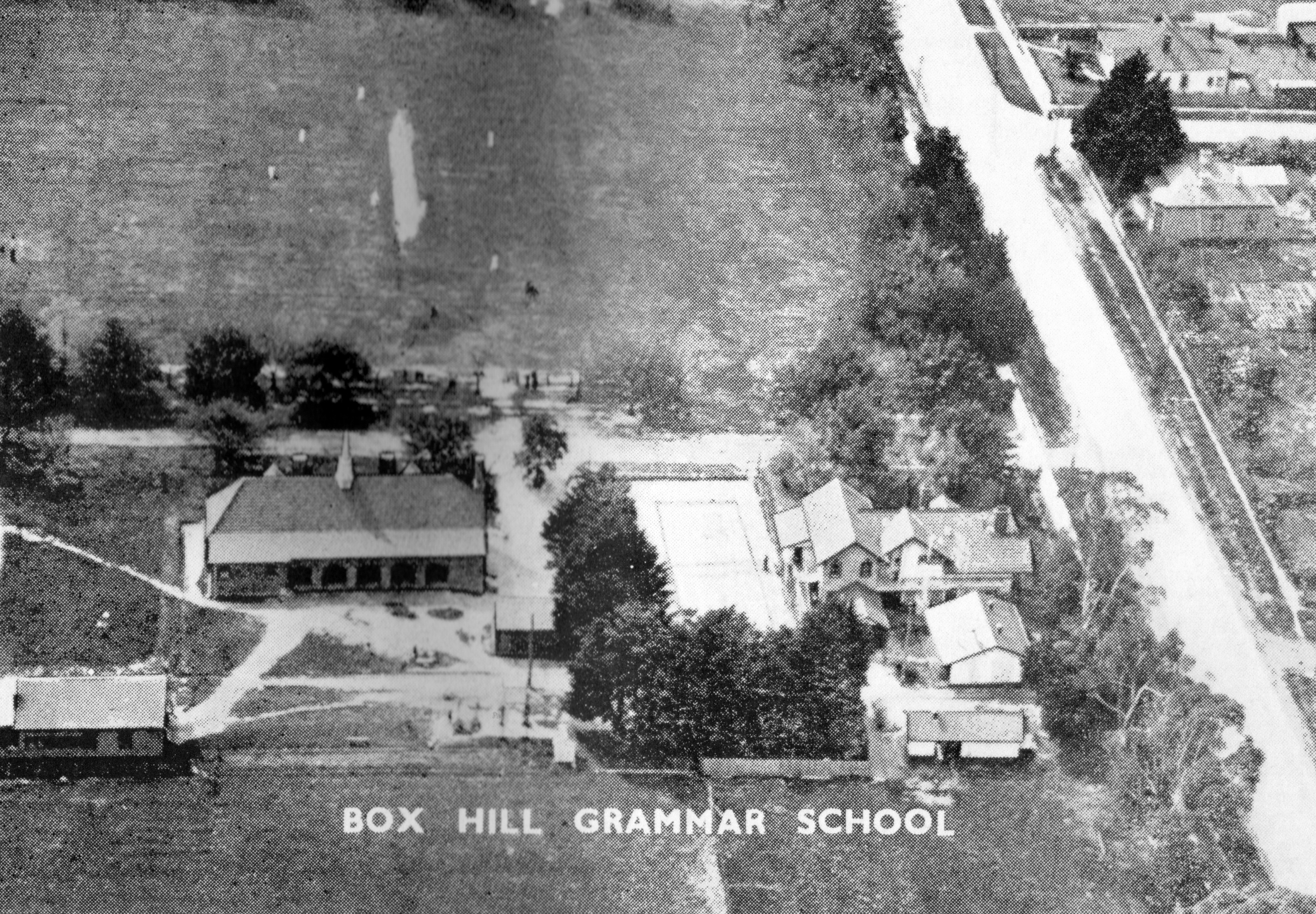Ariel view of BHGS 1938