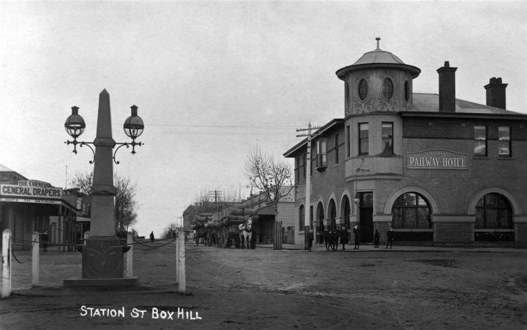 Whitehorse Road and Station Street, Box Hill
